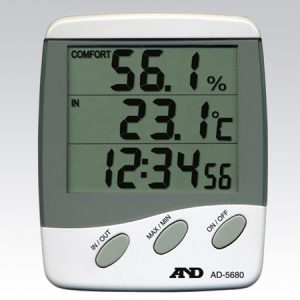 A&D THERMO-HYGROMETER AD-5680