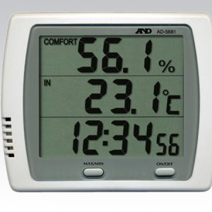 A&D THERMO-HYGROMETER AD-5681