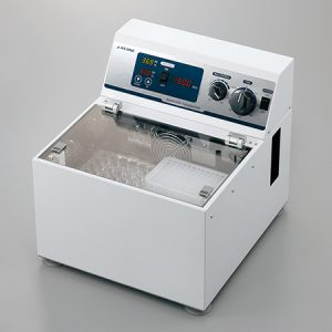 AS ONE INCUBATOR ISOTHERMAL SHAKER 50-500 RPM SIC-320 HW