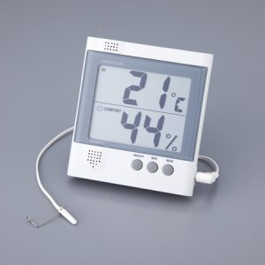 AS ONE LARGE-SIZED THERMO-HYGROMETER EM913NR