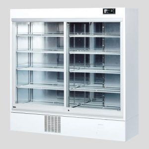 AS ONE MEDICINAL REFRIGERATED SHOWCASE 1002L SLIDE RACK IMS-1198-RM
