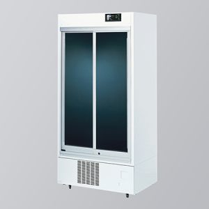 AS ONE MEDICINAL REFRIGERATED SHOWCASE 550L NH GLASS IMS-552S