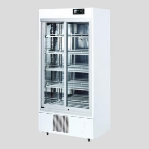 AS ONE MEDICINAL REFRIGERATED SHOWCASE 550L SLIDE  RACK IMS-552-RA