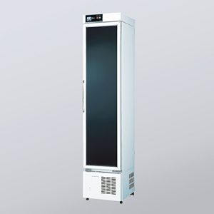 AS ONE MEDICINAL REFRIGERATED SHOWCASE ESMS-153 NH GLASS SMS-153S