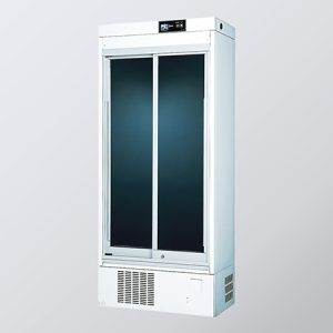 AS ONE MEDICINAL REFRIGERATED SHOWCASE ESMS-335 NH GLASS ESMS-335S