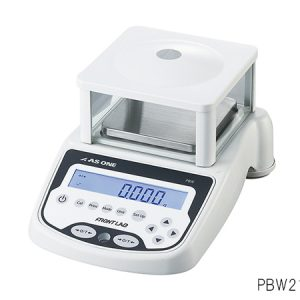 AS ONE PRECISION ELECTRONIC BALANCE WITH BUILT-IN CALIBRATION WEIGHT 210G PBW210