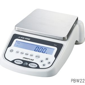 AS ONE PRECISION ELECTRONIC BALANCE WITH BUILT-IN CALIBRATION WEIGHT 2200G PBW2200