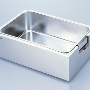AS ONE STAINLESS STEEL WATER TANK SQUARE TYPE 22L WITH COVER HSS-02