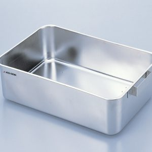 AS ONE STAINLESS STEEL WATER TANK SQUARE TYPE 22L WITHOUT COVER HSS-01