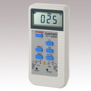 CUSTOM DIGITAL THERMOMETER CT1320D2ch