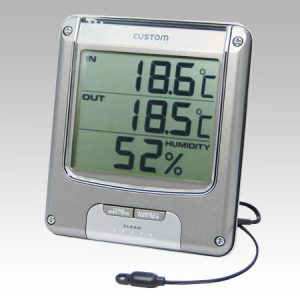 CUSTOM THERMO-HYGROMETER CTH-204