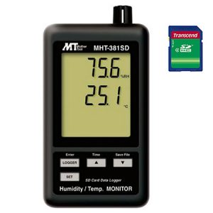 DIGITAL DATA LOGGER MHT-381SD/