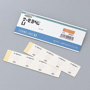 NIGK TEMPERATURE LABEL LI-105