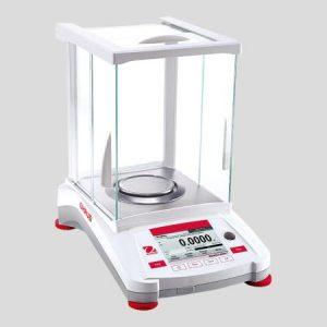 OHAUS ANALYTICAL BALANCE AX124