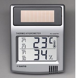 SATO THERMO-HYGROMETER PC-5200TRH