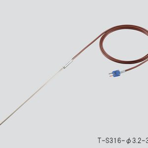 SHEATHED T THERMOCOUPLE T-S316-dim.3.2-300