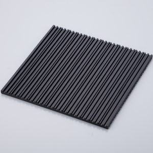 SIMPLE VINRATION-PROOF MATS WITH SLITS