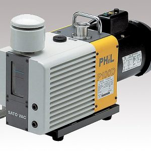 SATO DIRECT CONNECTION TYPE OIL ROTARY VACUUM PUMP P165DZA
